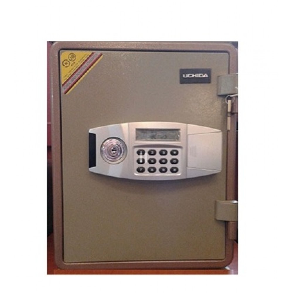 Anti fire safe -Brand Uchida - Model FRS 50 T -Digital + key