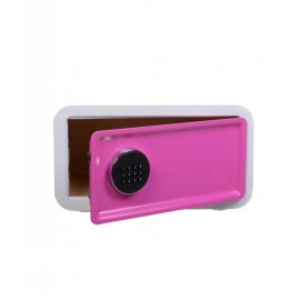 Hotel safe model LAP-23 white and pink
