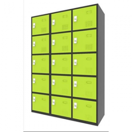 Electrostatic Locker 15 Doors