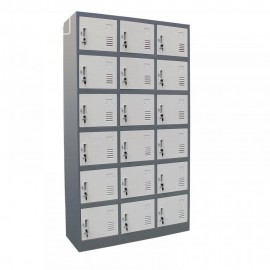 Electrostatic Locker  18 doors