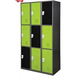 Electrostatic Locker 9 Doors
